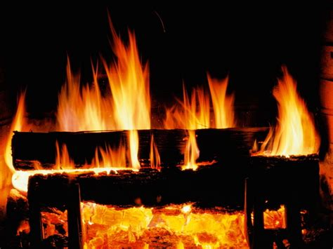 christmas images crackling fire hd wallpaper
