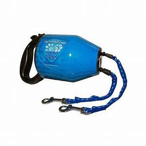 Paws Aboard The Freedom Leash Two Dog Retractable Dual ...