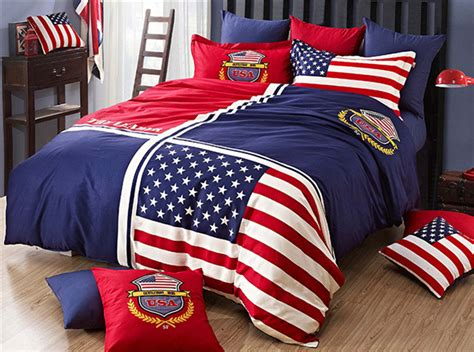 american flag comforter american flag cotton 4pcs bedding sets bedclothes set bed