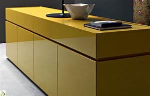 Madia moderna con ante e cassetti Halam Arredo Design Online