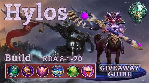 Hylos, New Meta Tank? Best Build! Guide