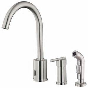 sensor faucet kitchen free sensor operated kitchen faucets