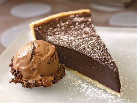bake  book chocolate bourbon fudge tart  eats