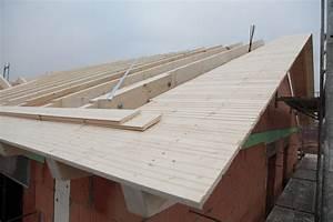Dachüberstand Nachträglich Bauen : rohbau wir bauen unser traumhaus ~ Lizthompson.info Haus und Dekorationen