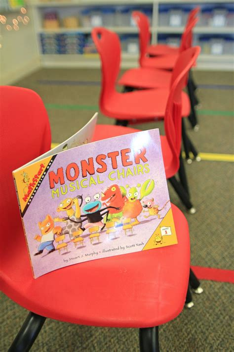 Every time the music stops, one more monster is out! Mrs. Ricca's Kindergarten: Subtraction Action! {FREEBIES}