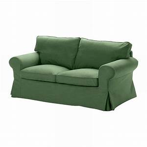 Ikea ektorp 2 seat sofa slipcover loveseat cover svanby green for Green slipcovers