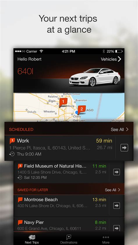 Bmw Application by Bmw Connected App L Application Qui Anticipe Vos
