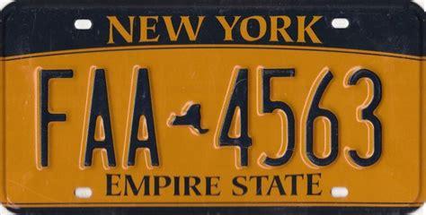 Vanity Plates Ny all 50 united states license plates ranked thrillist