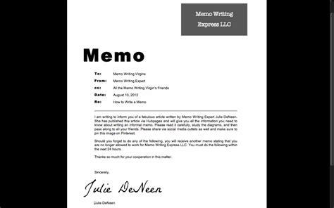 how to write a memo to staff how to write an informal memo toughnickel