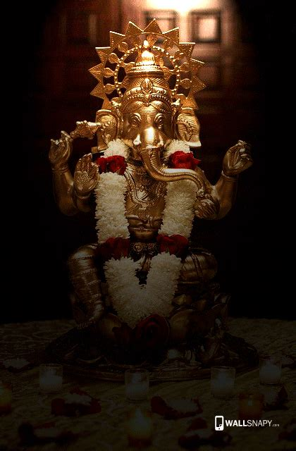 God Ganesh Wallpaper For Mobile Hd by Hindu God Vinayagar Hd Wallpaper Beautiful Pictures Of