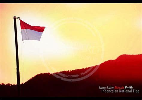 merak putih bendera sangsaka merah putih hut ri 69