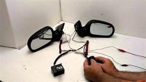 Ek Civic Power Folding Mirror Test Clip W  Zenki Switch 3