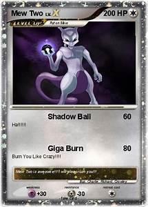 Pokémon Mew Two 57 57 - Shadow Ball - My Pokemon Card