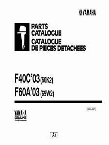 Manual Yamaha F40 Y F60  U0026 39 03