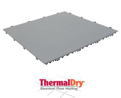 thermaldry 174 dry basement floor matting basement systems