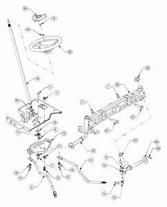 Cub Cadet Lt1045 Steering Diagram