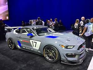 Ford Unveils Mustang GT4 Customer Race Car At 2016 SEMA Show