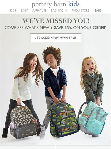 pottery barn orders pottery barn special savings just for you 15