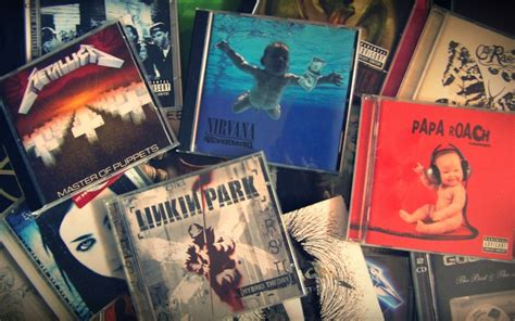 metallica linkin park nirvana album covers cd papa