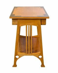 Art, Nouveau, Oakwood, Side, Table, For, Sale, At, 1stdibs