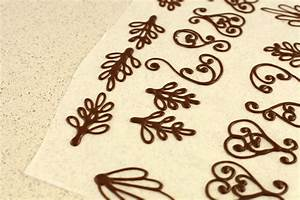 chocolate filigree templates - chocolate decoration templates