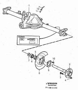 1992 Volvo 940 4drs S R Roller Bearing