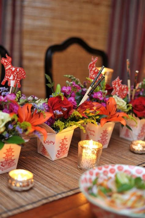 table centerpieces using photos 332 best images about chinese new year on pinterest