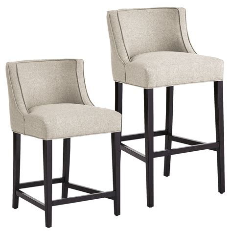 Countertop Height Chair Covers by Kitchen Counter Height Backless Swivel Stools