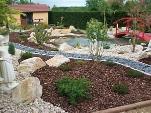 amenagement de bassins de jardin obasinccom With amenagement jardin avec bassin