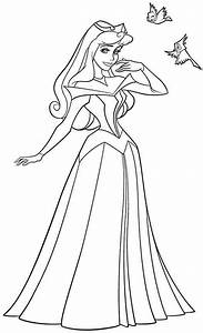 Disney Princess Sleeping Beauty Aurora Colouring Pages ...