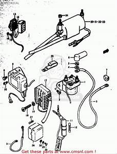 Suzuki Gs550  E 1977-1979  Usa  Electrical