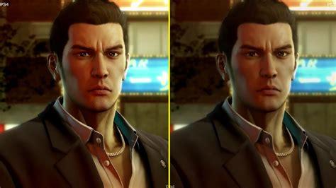 yakuza  ps  ps graphics comparison youtube