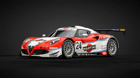 Martini Racing Alfa Romeo 4c Based On The 155 Dtm