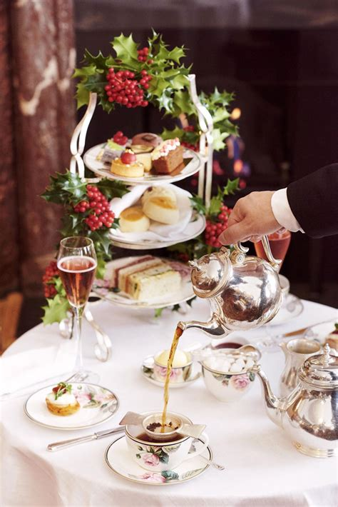 the best christmas themed afternoon teas in london