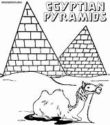 Coloring Egypt Pages Ancient Pyramid Pyramids Colorings Egyptian Printable Silhouette Thursday Getdrawings Building Mayan Getcolorings sketch template