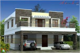 Smart Placement Big House Plans Pictures Ideas by Simple Contemporary Style Kerala House Elevation