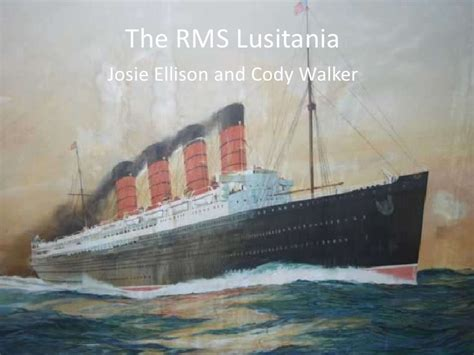 where did the rms lusitania sink the rms lusitania