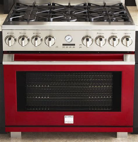 Kenmore Pro color range cookers and wall ovens