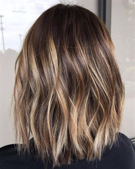 medium  long hair styles ombre balayage hairstyles