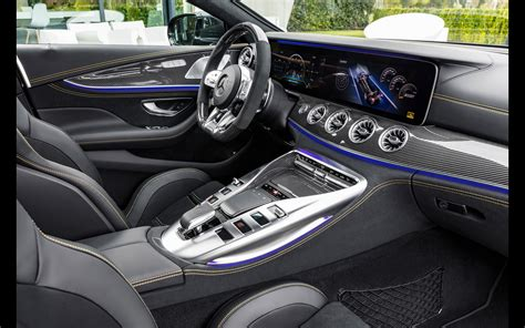 The biggest exception sits between the driver and still, accept those compromises, and the interior proves as delightful a place to kick back and enjoy the drive as any modern mercedes. 2019 Mercedes-AMG GT 4-Door Coupe | Serious Wheels