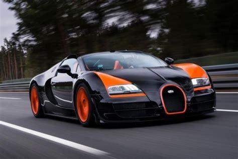 Bugatti Veyron Sets New Speed Record