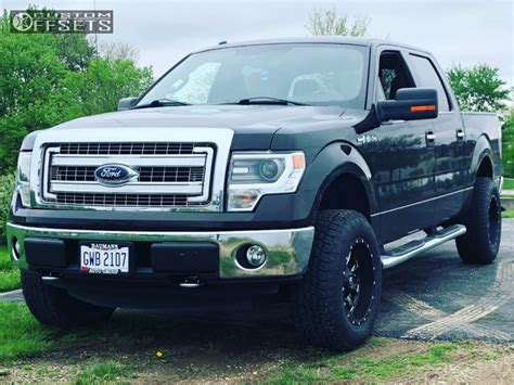 ford   fuel throttle rough country leveling kit