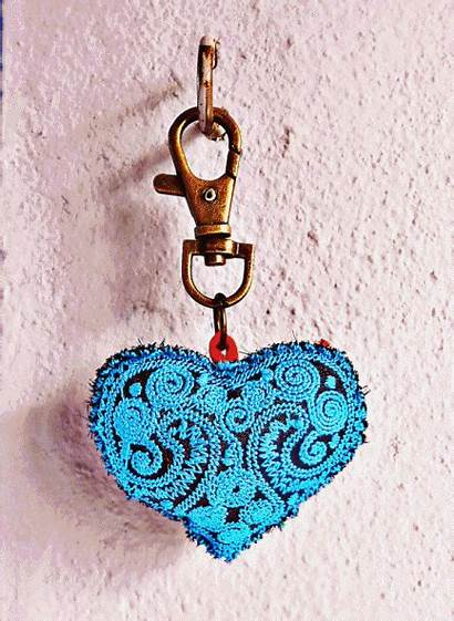 Heart Zip Keychain Ac1001 Accessory Pull Decoration