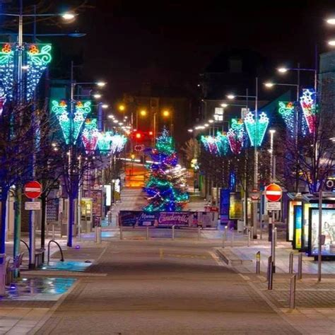 town centre christmas lights lowestoft lights switch on events discover lowestoft