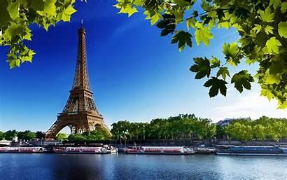 Eiffel Tower Paris France Sunset River Tour
