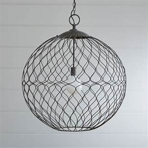 Hoyne Extra Large Pendant Reviews Crate And Barrel