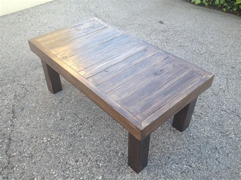 reclaimed wood coffee table plans   wooden