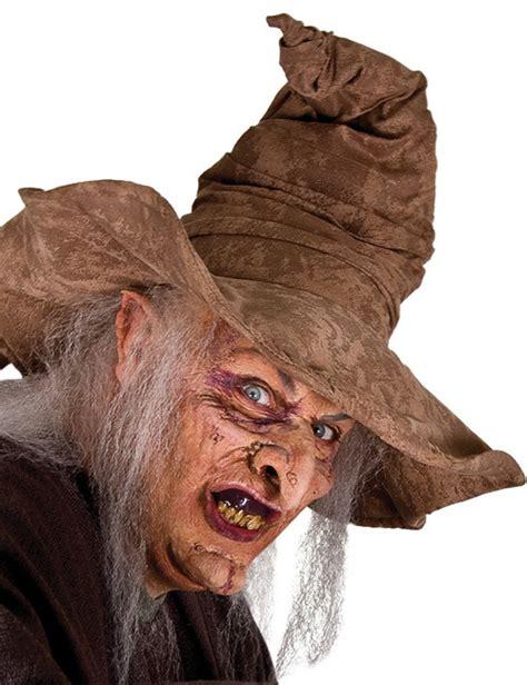 halbmaske hexe halloweenmaske bunt guenstige faschings