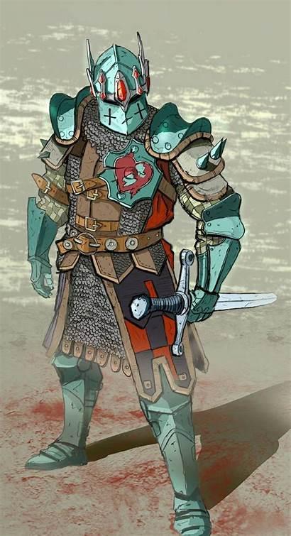 Warden Honor Fantasy Dnd Deviantart Warrior Character