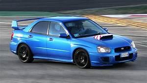 Subaru Impreza Wrx Sti With Loud Screamer Pipe